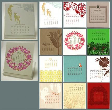 Letterpressed_calendar